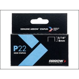 Image for P22 Staples 8mm ( 5/16in) Box 5050