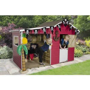 Image for Forest Basil Multiplay Playhouse - 8ft x 4ft