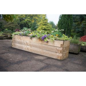 Image for Forest Caledonian Trough Raised Bed - 180cm x 42cm
