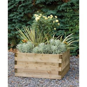 Image for Forest Caledonian Square Raised Bed - 90cm x 42cm