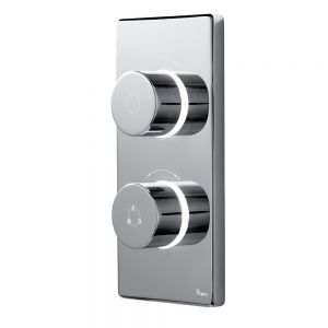 Image for Britton 2025 Contemporary Dual Outlet Digital Shower Valve High Pressure - CK12