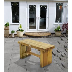 Image for Forest Double Sleeper Bench - 1.2m