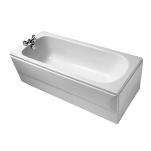 Image for Ideal Standard Alto CT 1700mm x 700mm Ideal Form 2 Tap Hole Bath 1700mm x 700mm 2 Tap Hole Bath