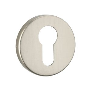 Image for Urfic Easy Click Round Euro Escutcheon Stainless Steel Effect