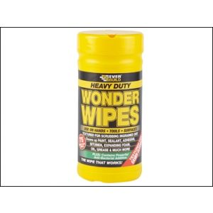 Image for Heavy-Duty Wonder Wipes Tub of 75