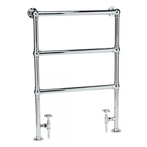 Image for Hudson Reed Countess Traditional Heated Towel Rail 966mm H x 676mm W Chrome
