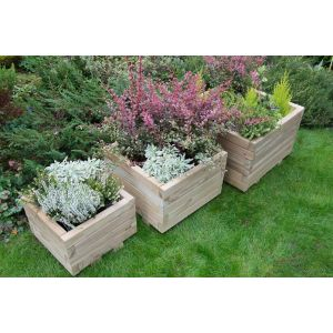 Image for Forest Kendal Square Planter - Set of 3