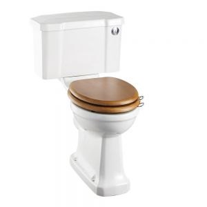 Image for Burlington Close Coupled Regal WC With Push Button Flush