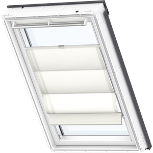 Image for Velux Roman Blind White - FHB 6501