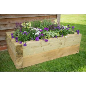 Image for Forest Sleeper Raised Bed - 130cm x 40cm