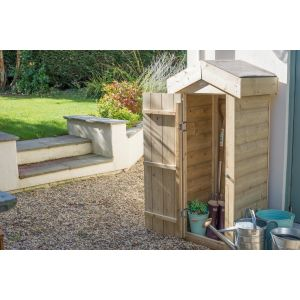 Image for Forest Shiplap Small Garden Store - 2.1ft x 4.6ft