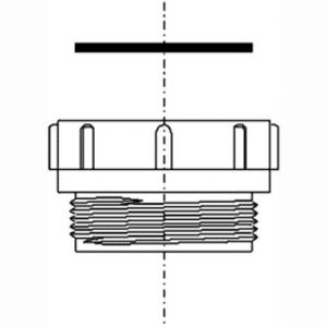 Image for Smeg T12A-F Multi-fit Kitchen Sink Waste Connector