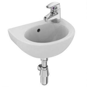Image for Armitage Shanks Sandringham 21 350mm RH Handrinse Washbasin E892801
