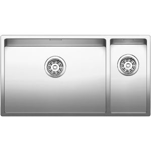 Image for BLANCO CLARON 550/200-U Stainless Steel Kitchen Sink Left Hand Main Bowl