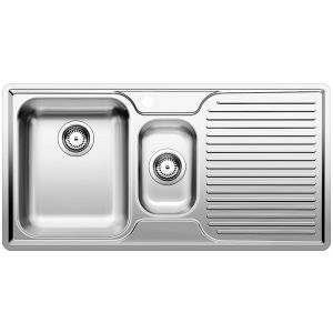 Image for BLANCO CLASSIC 6 S-IF Stainless Steel Kitchen Sink Left Hand Bowl