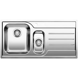 Image for BLANCO MEDIAN 6 S-IF Stainless Steel Kitchen Sink Left Hand Bowl