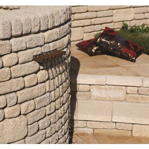 Image for Bradstone Countrystone Walling Buff 215x63x90