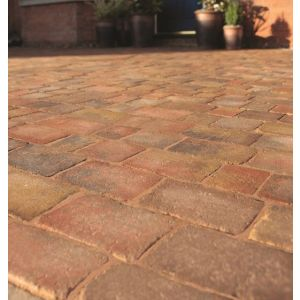 Image for Bradstone Woburn Rumbled Autumn Block Paving (1 Pack)