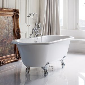 Image for Burlington Windsor Freestanding Double Ended Bath  - 1500 x 750mm