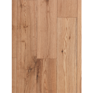 Image for Random Length Solid Wood Glueless Oak Flooring Brushed & Lacquered - 1.01m2
