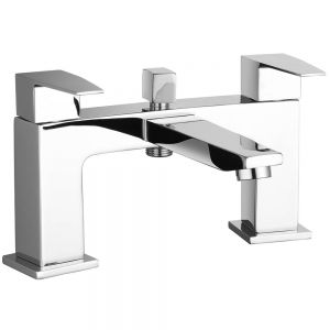 Image For Hudson Reed Camber Bath Shower Mixer with Shower Kit & Wall Bracket