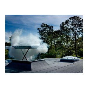 Image for VELUX CSP 100100 S10G Flat Roof Smoke Ventilation Window Clear Cover 100x100cm