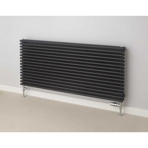 Image for Supplies 4 Heat Chaucer Double Horizontal Radiator White - 538mm High