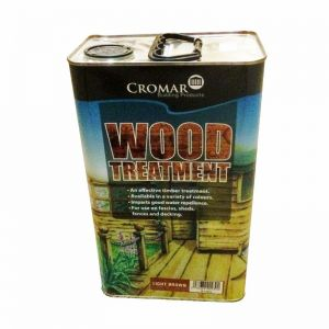 Image for Cromar Wood Treatment in Light Brown - 5 Litres