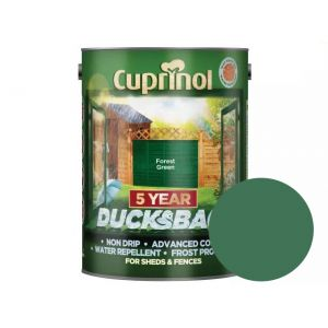 Image For Cuprinol 5 Year Ducksback - Forest Green - 5L