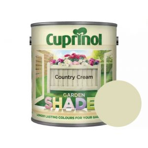 Image For Cuprinol Garden Shades - Country Cream - 1L