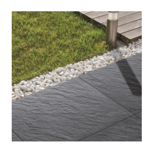 Image for Bradstone Mode Profiled Dark Grey Porcelain Paving (1 Pack - 60 Pavers)