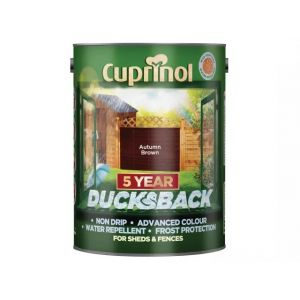 Image For Cuprinol 5 Year Ducksback - Autumn Brown - 5L