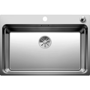 Image For Blanco Stainless Steel Kitchen Sink Etagon 700-IF/A - BL468499