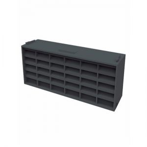 Image for Manthorpe G930 Blue/Black Airbrick with 7600mm2 Airflow - Pack of 20