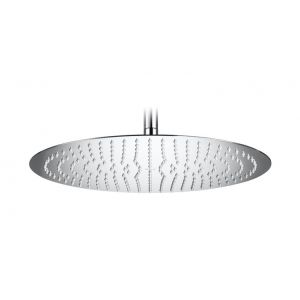Image for Roca Raindream Round Stainless Steel Shower Head - Ceiling Or Wall Installation