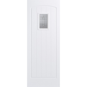 Image for LPD GRP Cottage White 1L Glazed Exterior Door