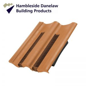 Image for Hambleside Danelaw Double Pantile Flush Fit Tile Vent - Terracotta Pack of 5