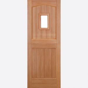 Image for LPD Barnburgh Stable 1 Lite Dowel Hardwood External Door