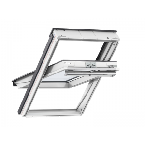 Image for Velux GGU 0060 White Centre Pivot Window FK06 (66 x 118 cm)