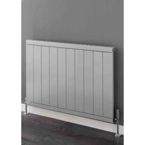 Supplies4Heat Huxley Horizontal Aluminium Radiator - White