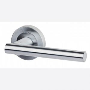 Image for LPD Ironmongery Hyperion Satin Chrome Handle Hardware Pack