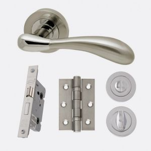 Image for LPD Ironmongery Venus Privacy Handle Hardware Pack