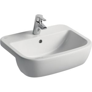 Image for Ideal Standard Tempo Semi-Countertop Basin 550mm - 2 Tap Hole