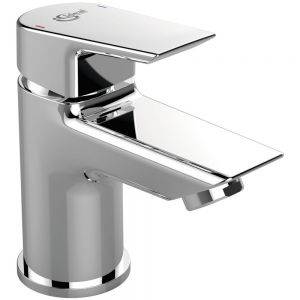 Image For Ideal Standard Chrome Deck Mounted Mini Basin Mixer Tap
