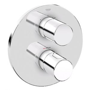 Image for Grohe Grohtherm 3000 Cosmopolitan - 2-Way Diverter Bath/Shower Trim 19468