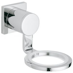 Image for Grohe Allure Glass / Soap Dish Holder 40278