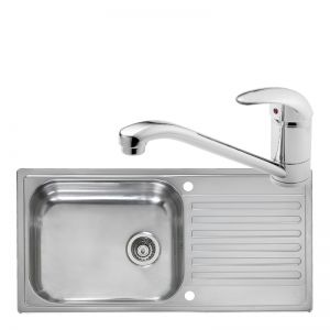 Image for Reginox Minister Reversible Kitchen Sink With Zambesi Tap