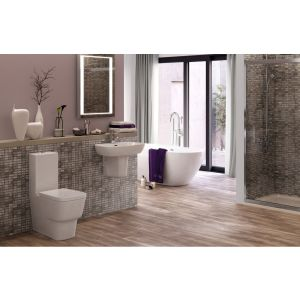 Image for Luxury Turin Suite complete with C/C WC and 1TH Semi Pedestal Basin