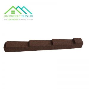 Image for Lightweight Roof Tile Dry Verge (Right Hand) - Autumn Brown