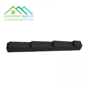 Image for Lightweight Roof Tile Dry Verge (Right Hand) - Forest Green